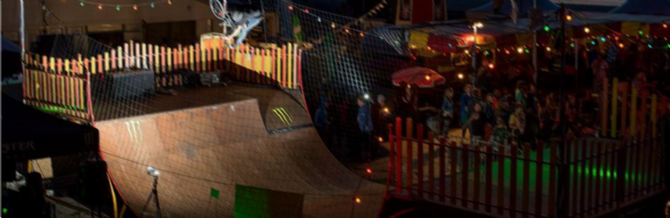 De Skatecircus Ramp in volle glorie